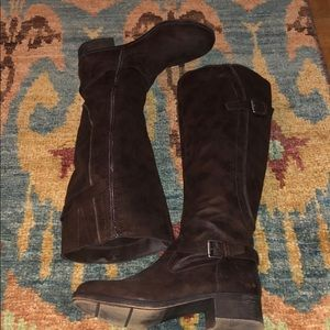 Brown Riding Boots - Size 10